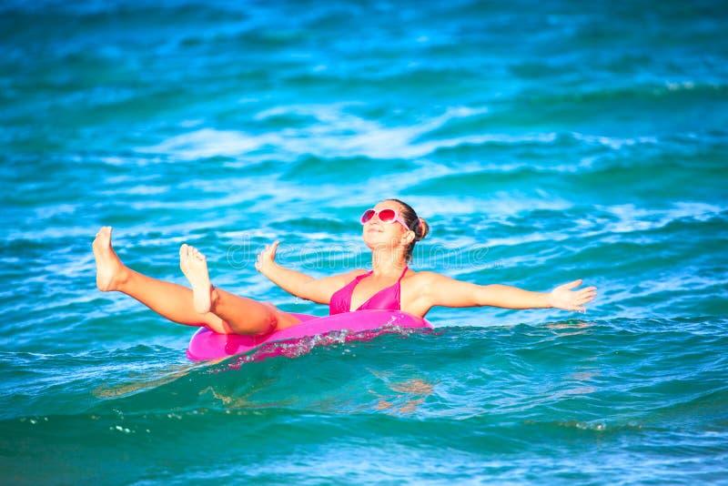zabawy morze fotografia stock