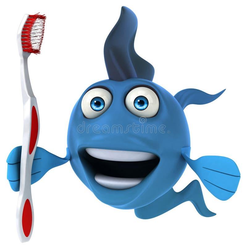 Zabawy ryba ilustracja wektor