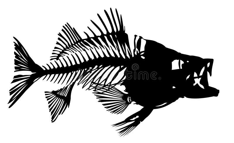 zabawy rybną ilustracyjny zredukowany wektora royalty ilustracja