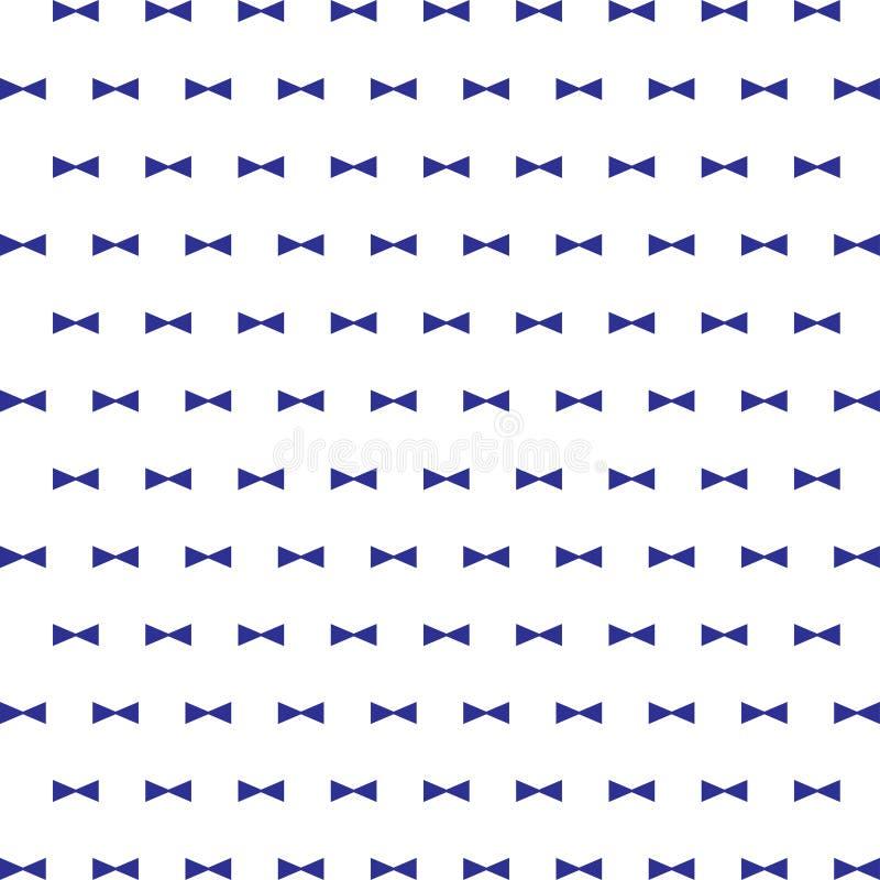 zabawy tło z krawata motylem ilustracja wektor