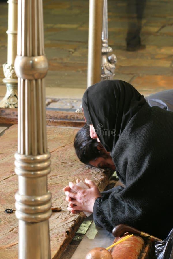 zabijecie unction modlitwy. zdjęcie royalty free