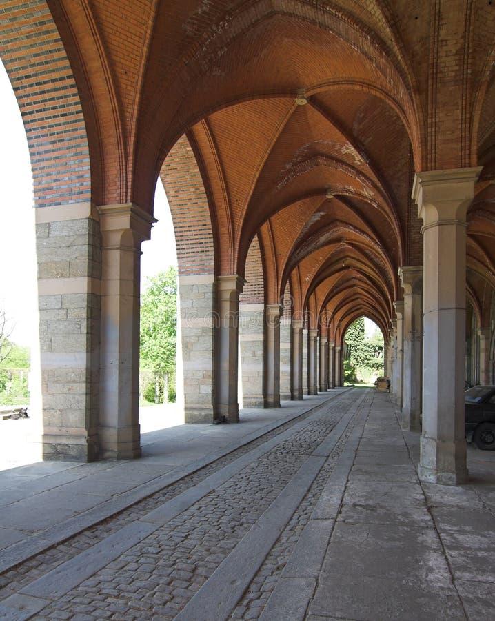 Zabkowicki de Kamieniec - château images stock