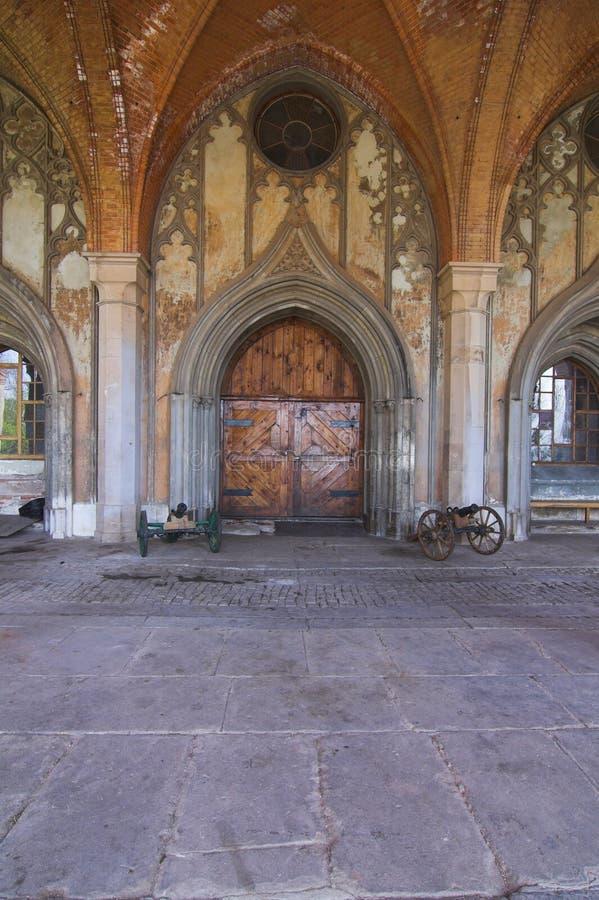 Zabkowicki de Kamieniec - château photographie stock libre de droits