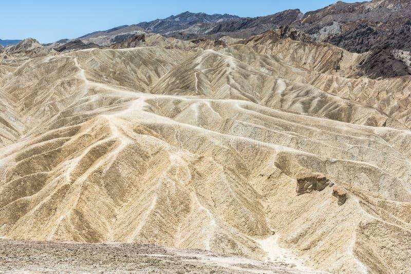 Zabriskie pekar, den Death Valley nationalparken, Kalifornien royaltyfria foton