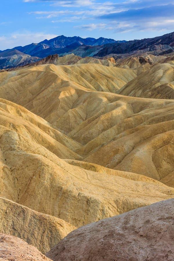 Zabriskie Point, Death Valley National Park, California Stock Photography
