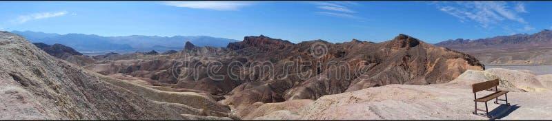 Zabriskie Punkt, Death- ValleyNationalpark lizenzfreies stockbild
