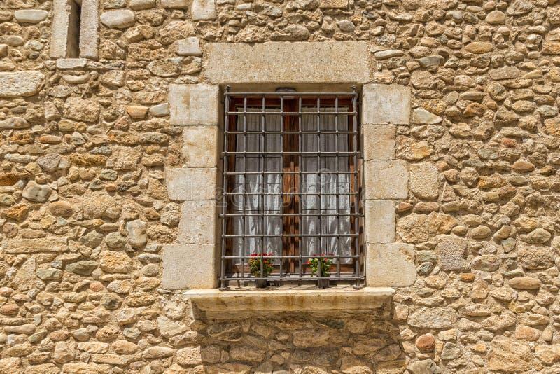 zabronione przez okno fotografia stock