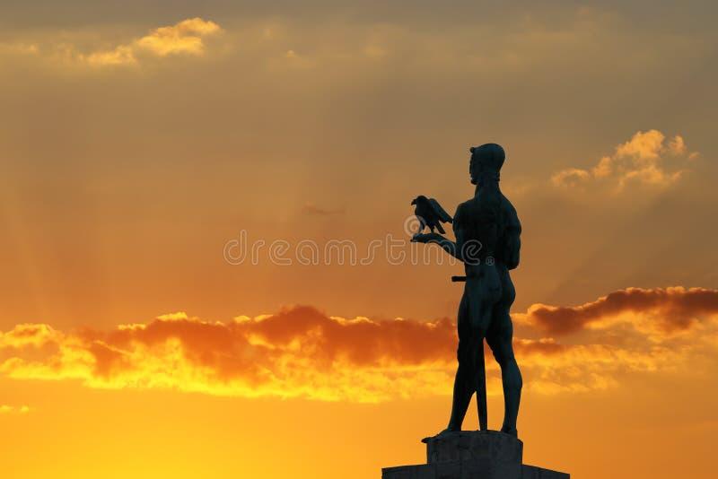 Zabytek Belgrade zwycięzca zdjęcie stock