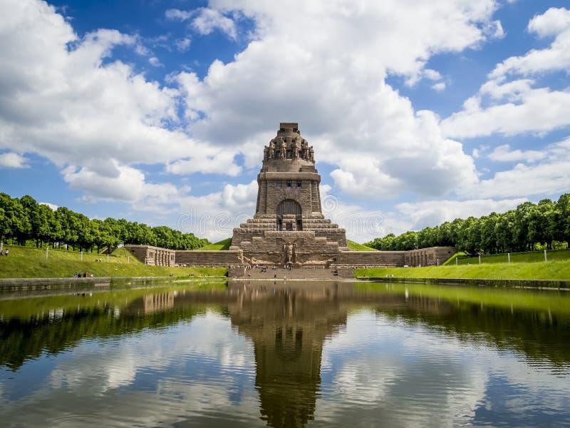 Zabytek bitwa narody, Leipzig zdjęcie royalty free
