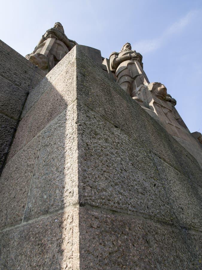 Zabytek bitwa narody, Leipzig zdjęcia royalty free
