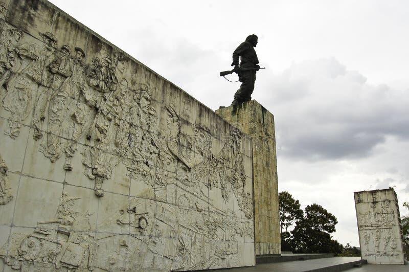 Zabytek dedykujący Che Guevara obrazy stock