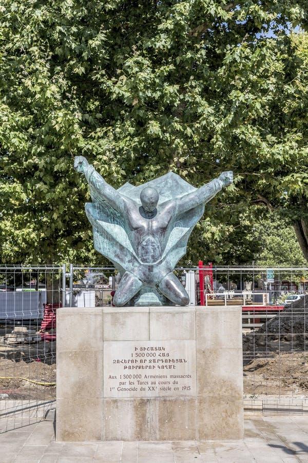 Zabytek dla ludobójstwa armenians zdjęcia stock