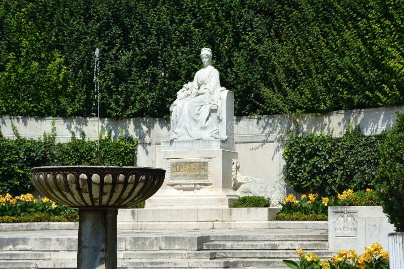 Zabytek imperatorowa Elizabeth w Wiedeń, Austria - obraz royalty free