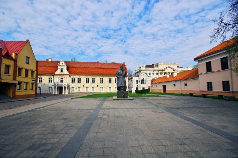 Zabytek Litewska poeta Maironis obraz royalty free