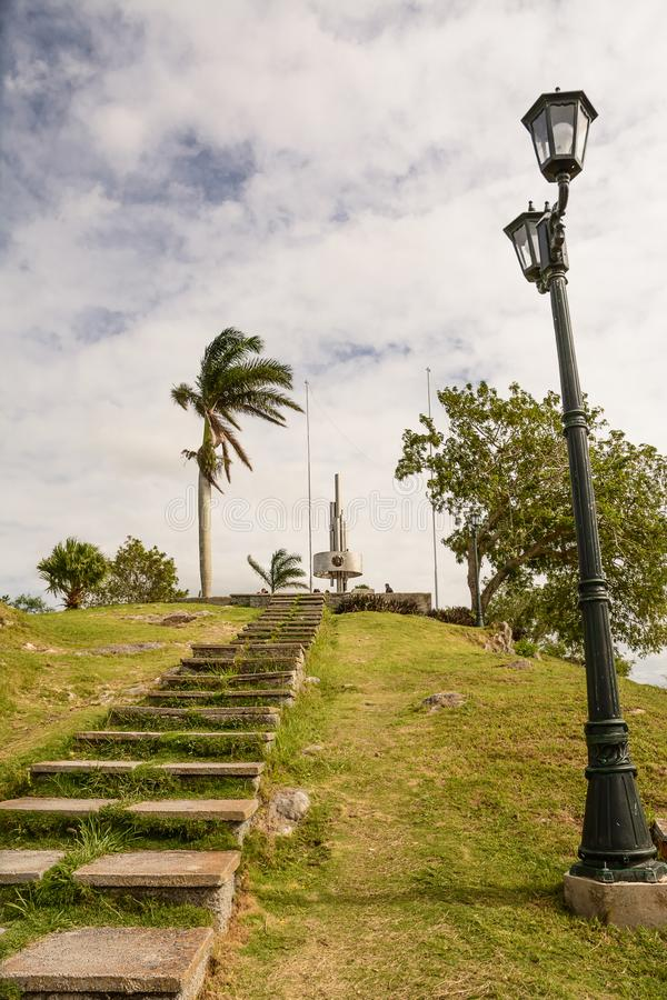 Zabytek Lomo Del Capiro w Santa Clara na górze hil obrazy royalty free