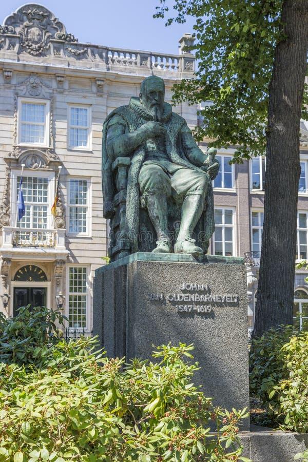 Zabytek mąż stanu Johan Samochód dostawczy Oldenbarnevelt Holenderski dyplomata i zdjęcia royalty free