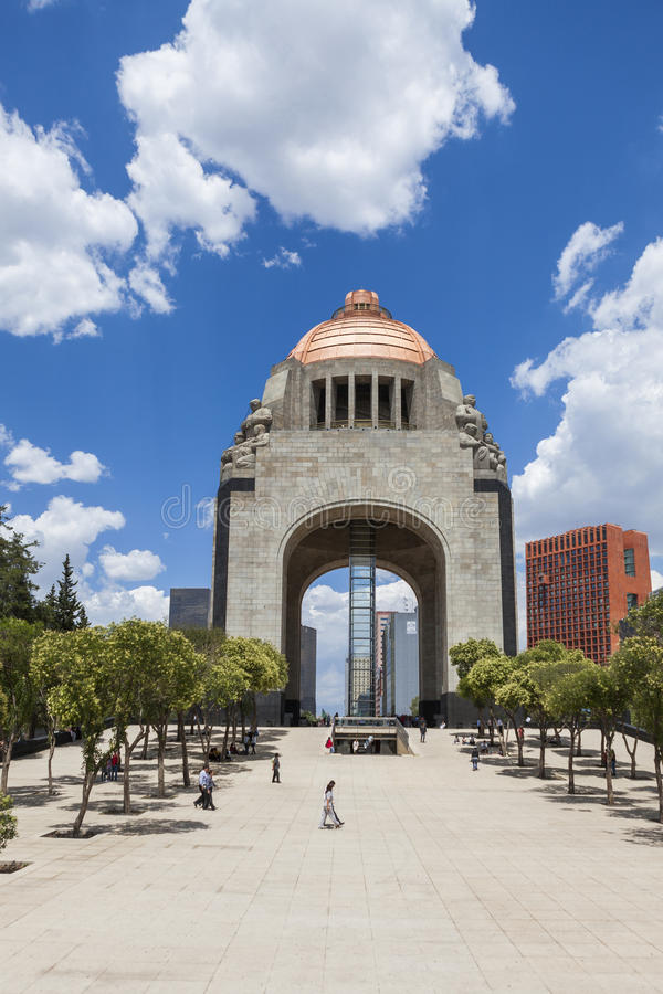 Zabytek Meksykańska rewolucja fotografia stock