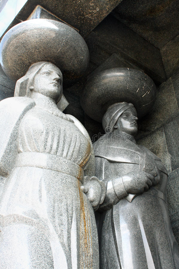 Zabytek Niewiadomy żołnierz od pierwszej wojny światowa na Avala, Belgr obrazy stock