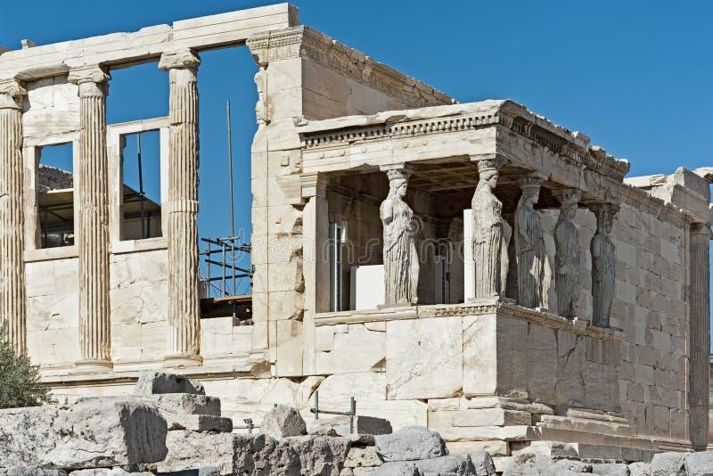 Zabytek Thrasyllus, akropol, Ateny, Grecja obraz stock