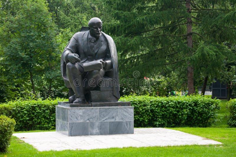 Zabytek Vladimir Lenin w Moskwa 13 07 2017 obrazy royalty free