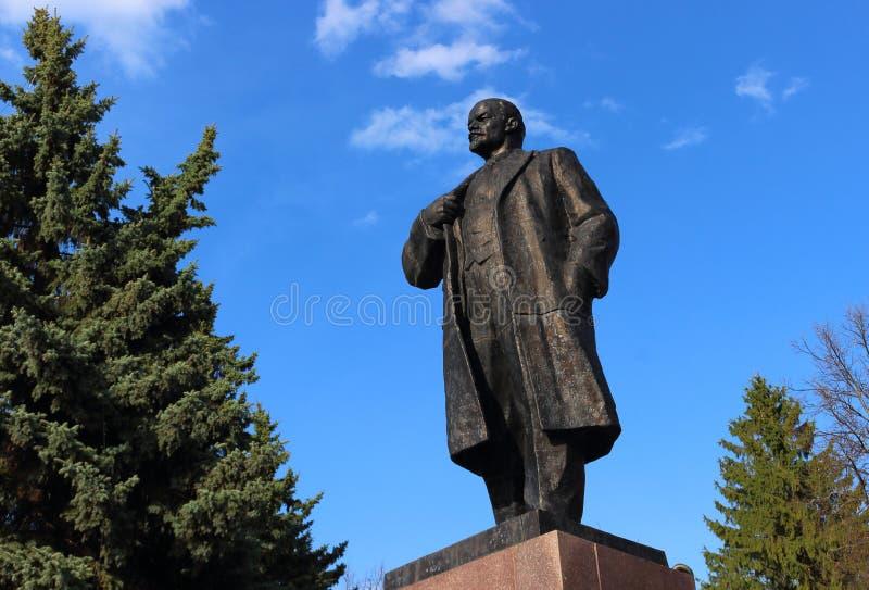 Zabytek Vladimir Lenin fotografia royalty free
