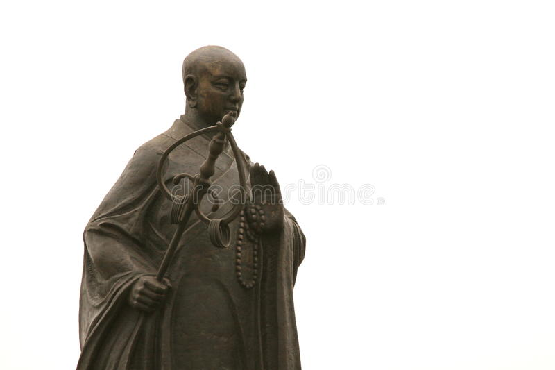 Zabytek Xuan Zang przy Xian, Chiny obraz royalty free