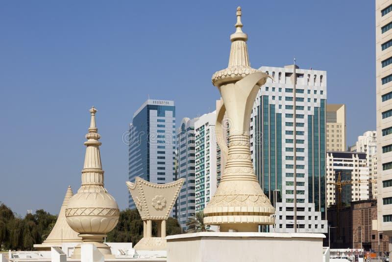 Zabytki w Abu Dhabi fotografia royalty free