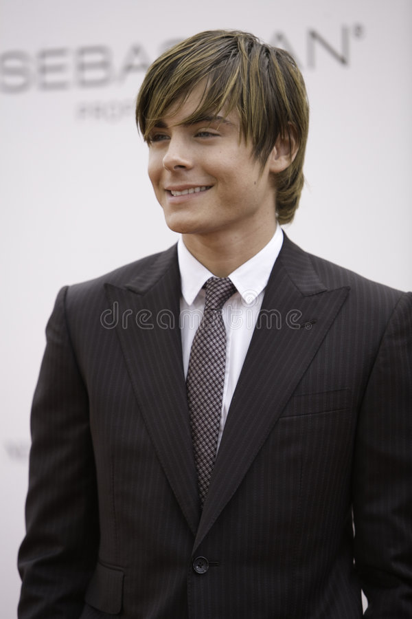 Zac Efron 1 photos stock
