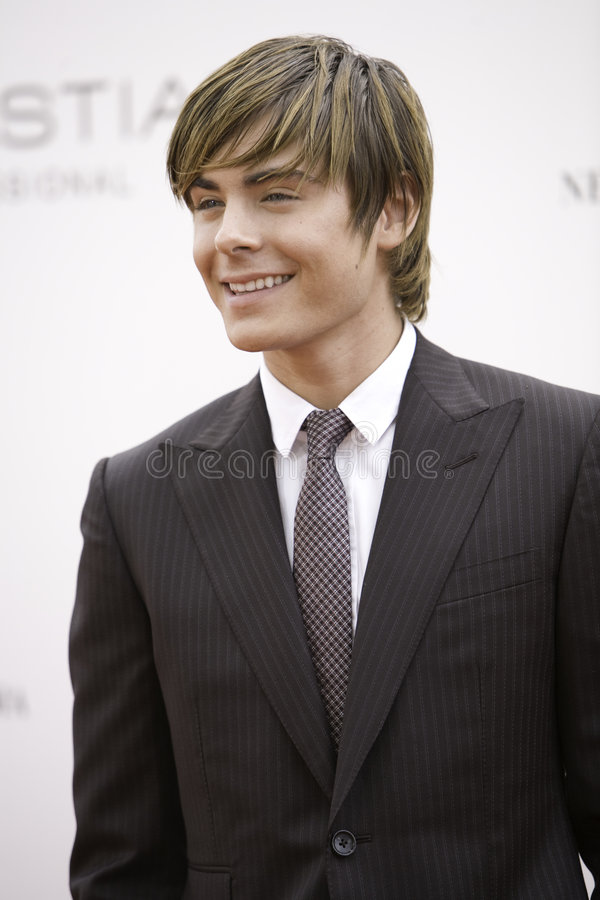 Zac Efron 2 photo stock