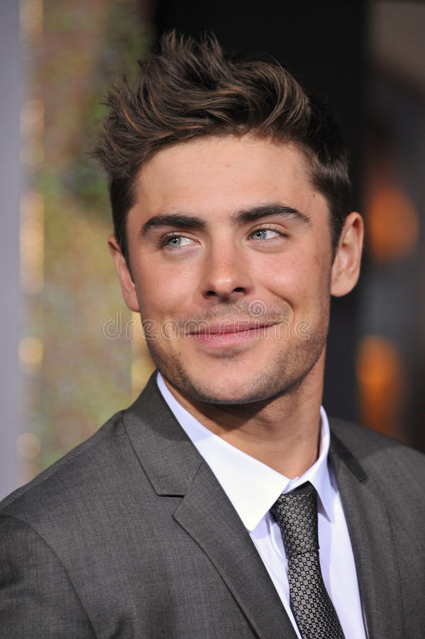 Zac Efron. At the world premiere of his new movie New Year's Eve at Grauman's Chinese Theatre, Hollywood. December 5, 2011 Los Angeles, CA Picture: Paul Smith royalty free stock images