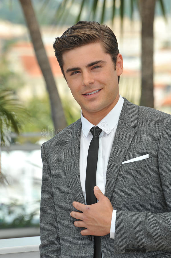Zac Efron. At the photocall for his new movie The Paperboy in competition at the 65th Festival de Cannes. May 24, 2012 Cannes, France Picture: Paul Smith / stock image