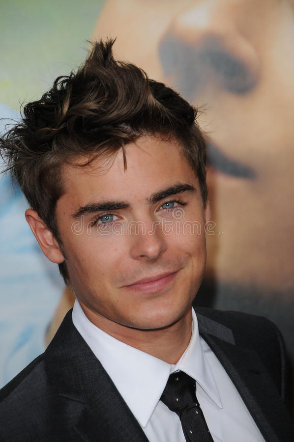 Zac Efron. At the 'Charlie St. Cloud' World Premiere, Regency Village Theatre, Westwood, CA. 07-20-10 stock photography