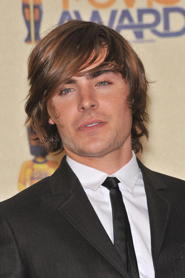 Zac Efron. At the 2009 MTV Movie Awards at Universal Studios Hollywood. May 31, 2009 Los Angeles, CA Picture: Paul Smith / Featureflash stock images