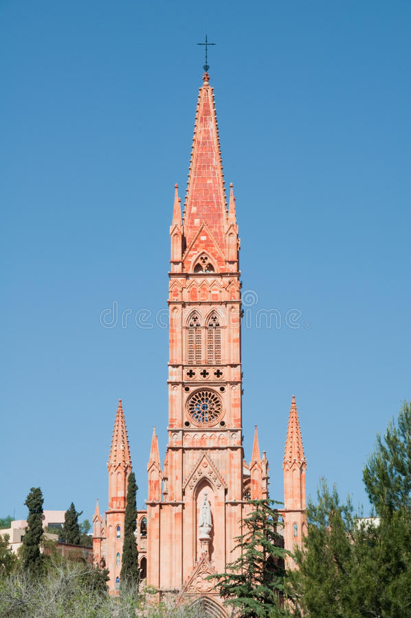 zacatecas της Fatima Μεξικό εκκλησιών στοκ φωτογραφία με δικαίωμα ελεύθερης χρήσης