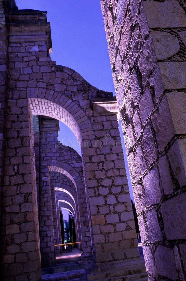 zacatecas Мексики мост-водовода стоковое фото rf