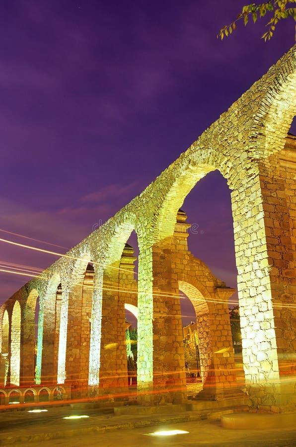 zacatecas Мексики мост-водовода стоковые изображения rf