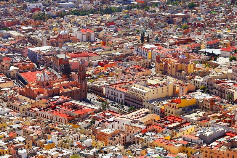 Zacatecas aerial I royalty free stock photo