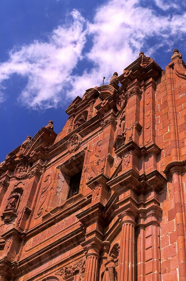 zacatecas du Mexique de cathédrale images libres de droits