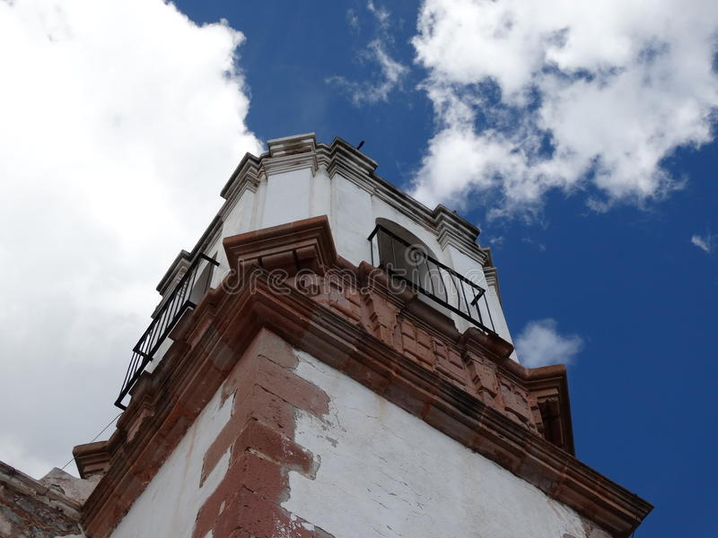 Zacatecas-Kirche stockfotografie
