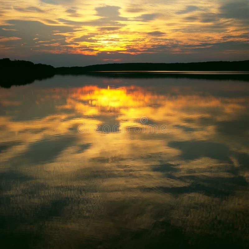 - zachód słońca obraz stock