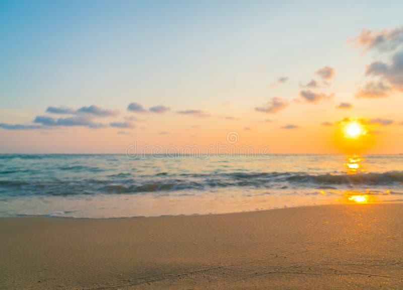 zachód słońca nad morza czarnego zdjęcie royalty free
