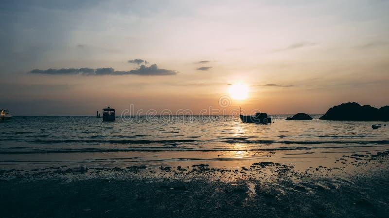 zachód słońca fotografia stock