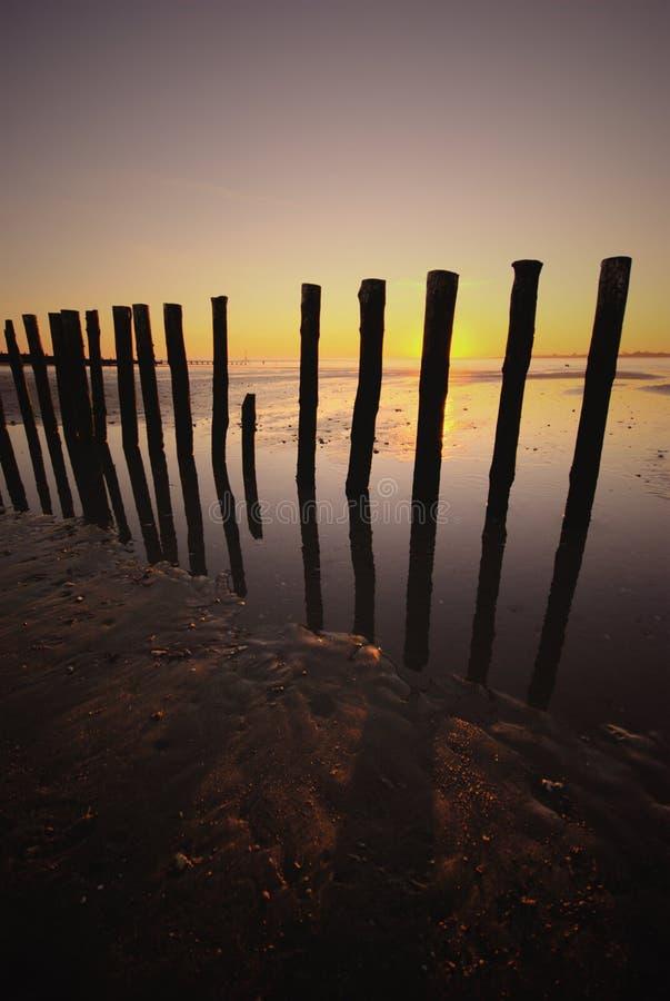 zachód witterings sunset zdjęcia royalty free