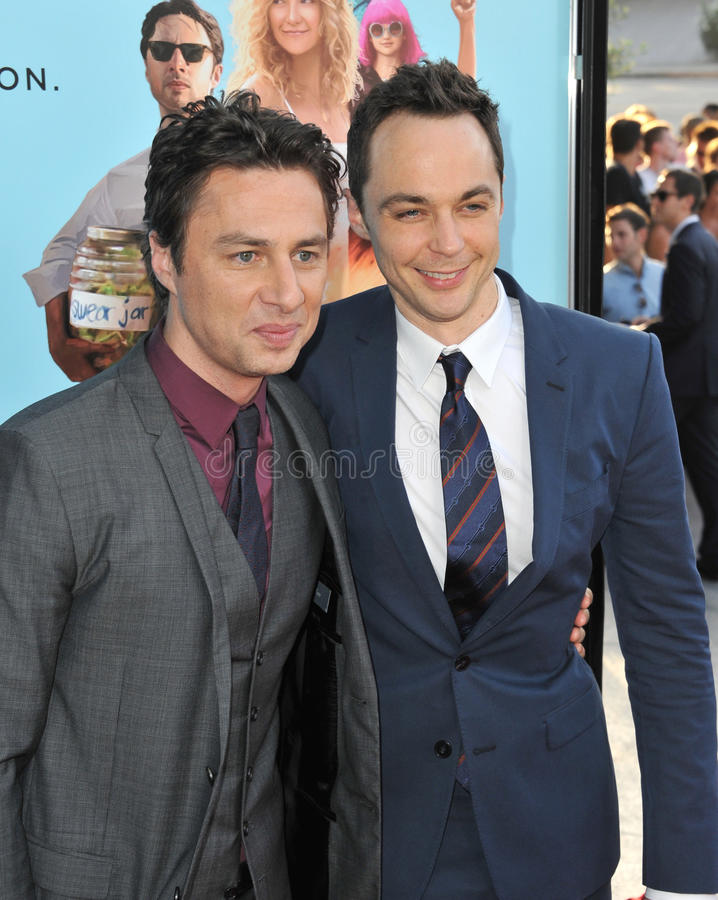 Download Zach Braff y Jim Parsons imagen editorial. Imagen de parsons - 44858390