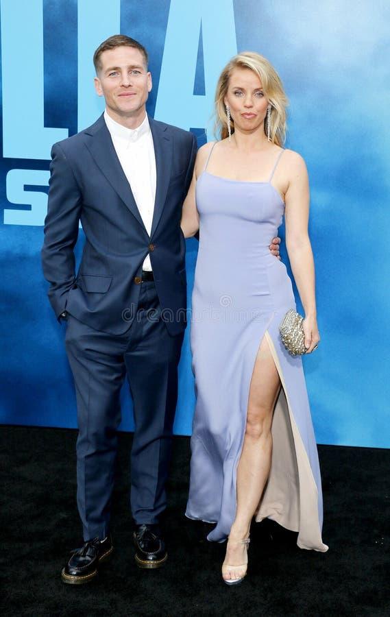 Zach Shields y Kelli Garner imagen de archivo libre de regalías