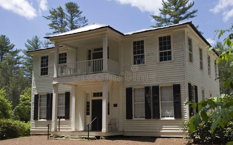 The Zachary-Tolbert House royalty free stock photography