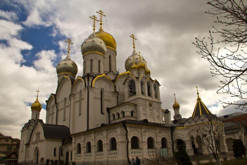 Zachatievsky kloster royaltyfri fotografi