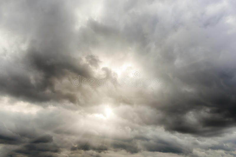 1 zachmurzone niebo zdjęcie stock