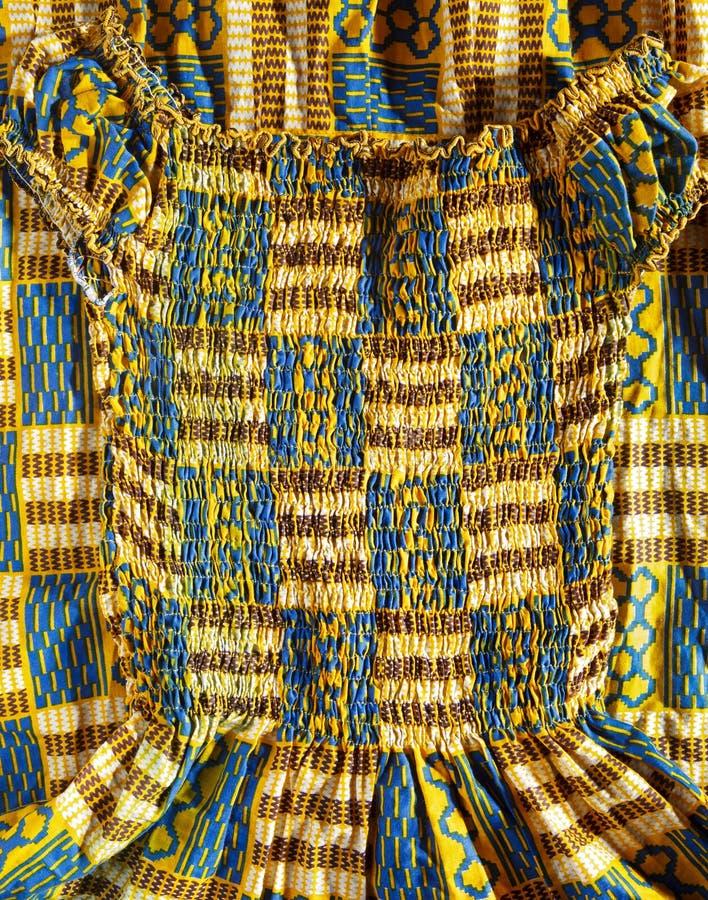 Zachodni - afrykanin suknia zdjęcie stock