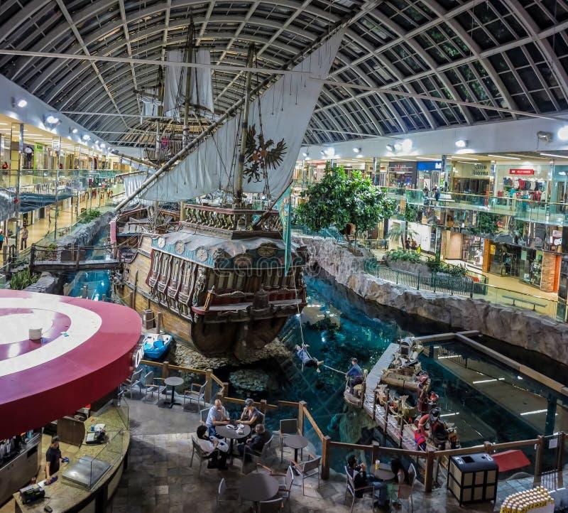 Zachodni Edmonton centrum handlowe zdjęcie royalty free